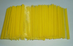 1000 Yellow 1 Clothing Garment Price Label Tagging Tagger Gun Barbs Fasterners