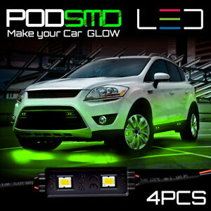 Underbody Green Accent Kit Under Car Neon Glow Rock Led Lights For Ford Explorer