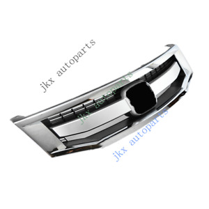 Chrome Sport Model Front Bumper Middle K Center Grille For Honda Accord 08 2010