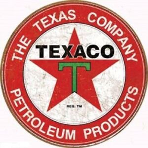 Texaco Motor Oil Company Vintage Style Metal Signs 12 Garage Man Cave Decor 69
