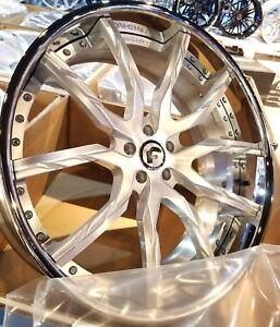 24 Forgiato Formata Ecl Dodge hell Cat Charger And Challenger Srt 5x115