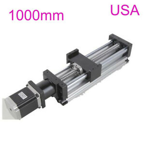 1000mm 1605 Ball Screw Linear Slide Table Stroke Stage Actuator 57 Stepper Motor