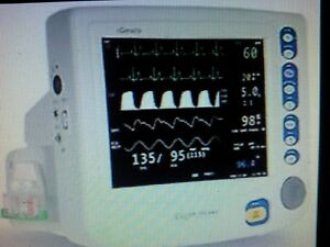 Criticare 8100ep1 Patient Monitor Unit With Co2 New Miami