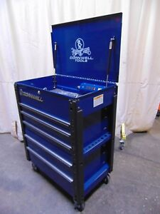 Cornwell Tools Vertical 5 Drawer Tool Box Chest With Power Strip And Usb