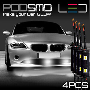 Led Under Car Rock Lights Underbody White Accent Neon Glow For Toyota Cressida