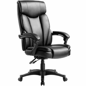 Modern Luxe High Back Pu Leather Ergonomic Executive Office Computer Chair