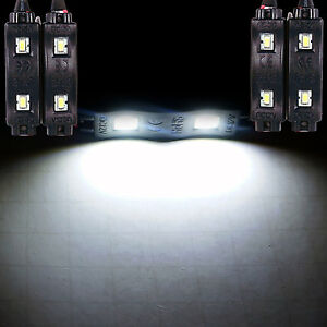 White Under Car Neon Glow Kit Underbody Rock Accent Led Lights For Ford Focus Rs