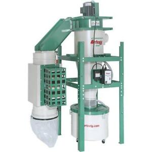 G0440hep 2 Hp Dual filtration Hepa Cyclone Dust Collector