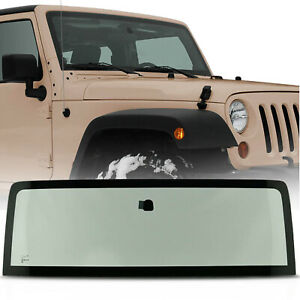 New Green Tinted Windshield Glass W O Windshield Seal For Jeep Wrangler Jk 07 14