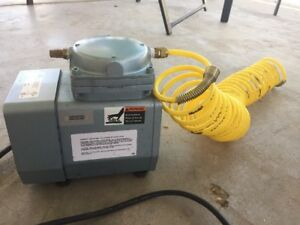 Gast Doa p701 aa Used Working Air Pump With Nylon Coil