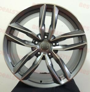 4 New 17 Wheels Rims For Audi S3 S4 S6 A3 A4 A6 Q3 Tt 37031
