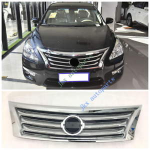 Chrome Front Bumper Center Grille Grill No Badge K For Nissan Altima 2013 15