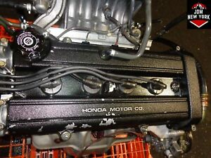 99 00 01 Honda Crv 2 0l Dohc 4 Cylinder Engine Jdm B20b High Compression B20z