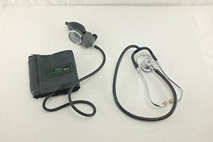 Welch Allyn Tycost Sphygmomanometer Adc Stethoscope