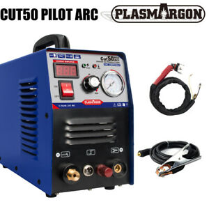 Plasma Cutter Pilot Arc 50 Amp Dual Voltage 110 220v Cnc Compatible