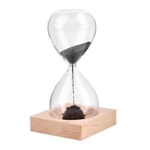 Magnetic Hourglass Timer Fun Desk Toy Desktop Toys Sand Home Office Game Present