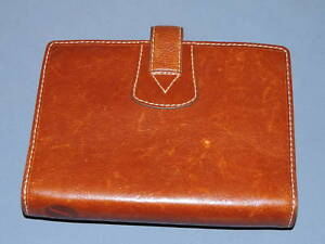 Vintage Filofax Malden Brown Leather Personal Organizer Made In England