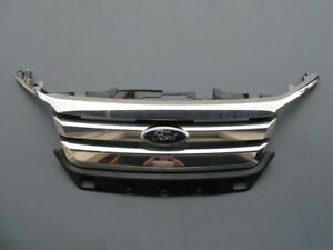 2010 2011 2012 Ford Fusion Front Bumper Cover Chrome Grille Assembly 10 11 12