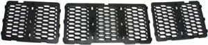 Grille For 2014 2015 Jeep Grand Cherokee Textured Black Plastic