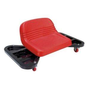 Workshop Seat Creeper Low Profile Tool Tray Rolling Wheels Auto Car Shop Garage