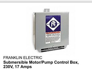 Franklin Electric 3hp Standard Control Box For Submersible Pump