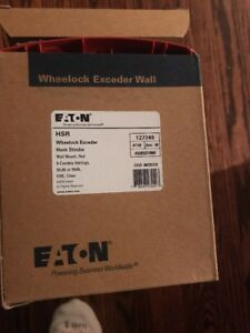 Lot Of 4 Wheelock Wh hsr Exceder Horn storbe red Brand New Free Ship