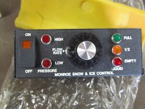 New Monroe Snow And Ice Control Controller Box