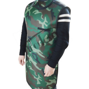 Camouflage 0 35mmpb Protection Apron For X ray With Collar Large Size