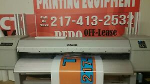 Mutoh Vj1638 Dual Head Valuejet Eco Solvent Sign Printer Wide Format New Heads
