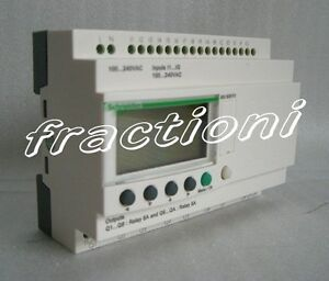 Schneider Plc Zelio Logic Relay Sr3b261jd New In Box 1 year Warranty