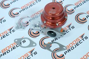 Tial Sport F38 Red Anodized 38mm Wastegate 1 50 Od Inlet outlet Flange 002897