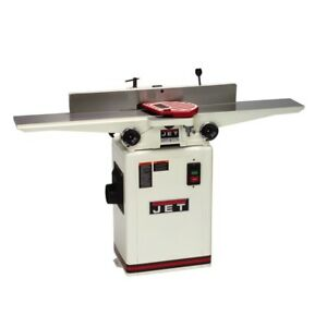 Jet 708457dxk Jj 6csdx 6 Deluxe Jointer With Qs Knives