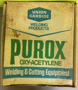 Union Carbide purox 201 Welding And Cutting Outfit