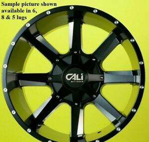 4 New 22 Wheels Rims For Chevy Silverado 2500 Hd Lt Ltz Wt 23074