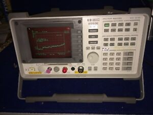 Hp Agilent 8593e Spectrum Analyzer 9 Khz 22 Ghz Opt 004 0041 105 130 151 163