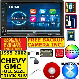 95 02 Gm Truck suv Bluetooth Cd dvd Usb Aux Car Radio Stereo W Free Backup Cam