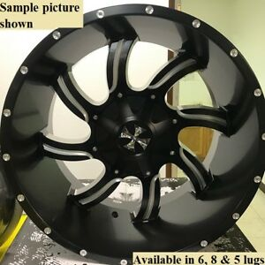 4 New 20 Wheels Rims For Chevy Avalanche 2500 4wd Express Van 2500 3500 21890