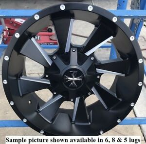 4 New 20 Wheels Rims For Dodge Ram 2500 8 Lug 21900