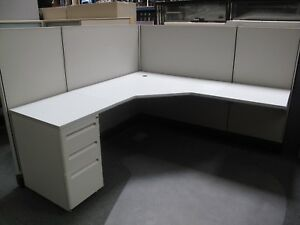 6 x6 54 Herman Miller Cubicles W mobile Ped local Pickup Only