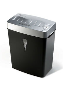 Royal Paper Shredder Micro Cut 5 Per Pass Paper Credit Card 4 Gal Wastebin