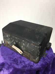 1930 s Antique Ford Fomoco Radio Tube Reciever Box Super Heterodyne Radio