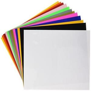 Siser Easyweed Heat Transfer Vinyl 12 X 15 12 color Starter Bundle Excellent Ne