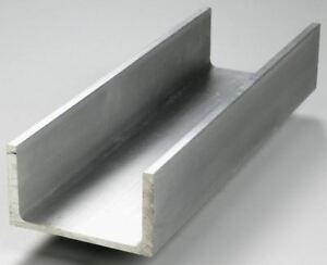 12 X 4 X 290 6061 Aluminum Association Channel 12 Length Brand New