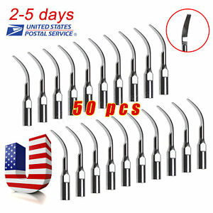 50 Dental Scaling Tips Fit Dte Satelec Ultrasonic Scaler Handpiece Gd2 Skysea