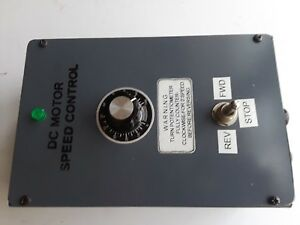 1 Hp Permanent Magnet Dc Motor Drive Control Variable Speed 120 240 Vac Input