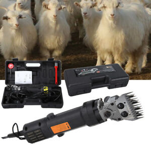 320w Electric Farm Supplies Sheep Goat Shears Animal Grooming Shearing Clipper