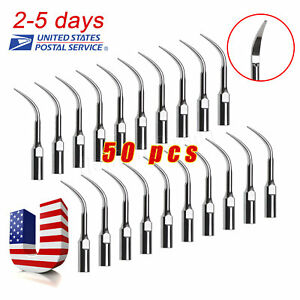 50x Us Dental Scaling Tip Gd4 Fit Dte Satelec Ultrasonic Scaler Handpiece Skysea