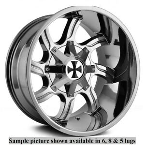 4 New 20 Wheels Rims For Dodge Ram 1500 Dakota 2wd Durango 2wd 4wd 29091
