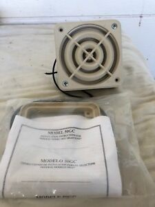 Federal Signal Selectone 24v 50gc Amplified Signal Device Speaker W Utm Tone