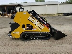 Boxer 700hdx Mini Skid Steer Loader Expandable Tracks Kubota Diesel Bucket